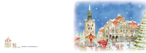 """Weihnachtskarte """"Weihnachten in Wunstorf_04"""""""