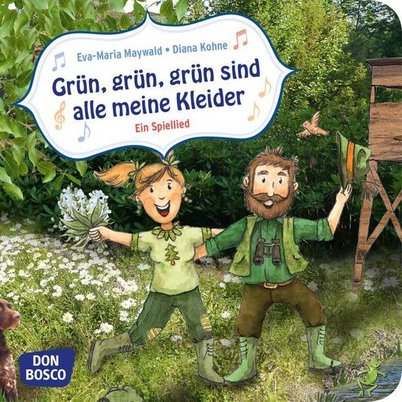 """Minibuch """"Grün, grün, grün"""""""