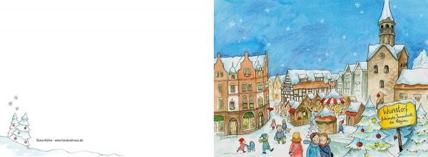"""Weihnachtskarte """"Weihnachten in Wunstorf_02"""""""