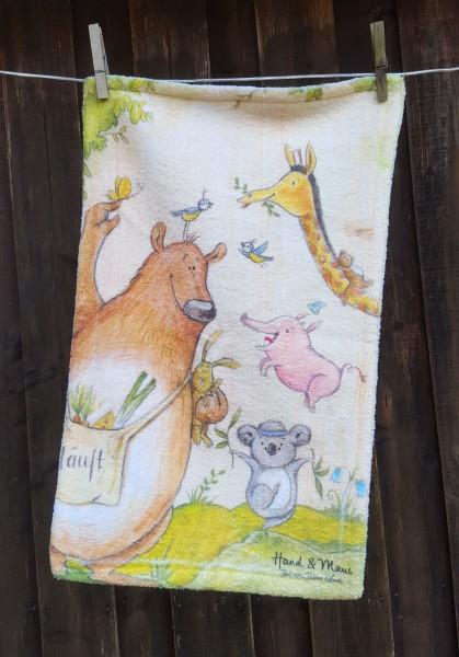 """Handtuch """"Wilde Tiere"""""""